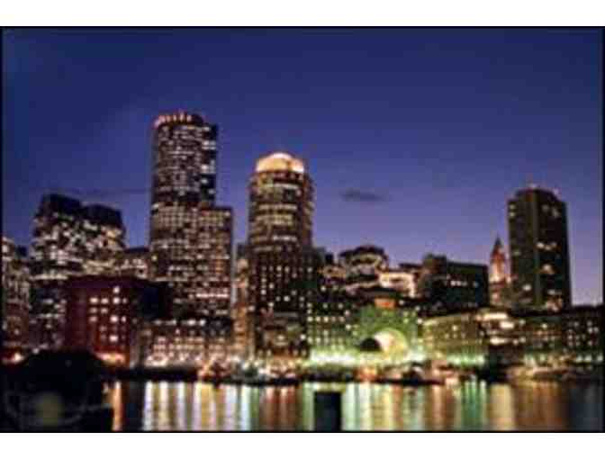Boston Harbor Summer Sunset Cruise for 4