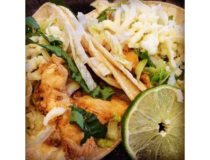 What could be more authentic? Chubby's Taco (and maybe a beer!) $25 Gift card