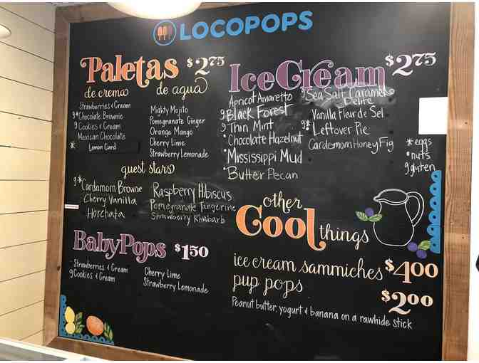 Loco for Locopops! Summer is here! 10 Individual certificates for 1 free Locopop! #2