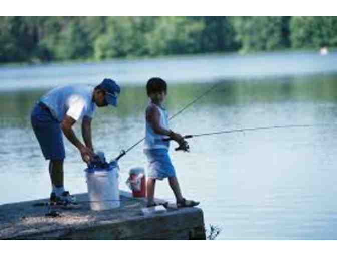 3rd Gr presents..Father's Day Alert!  Fathers/Sons or Family Fishing/Boating Lake Overlook