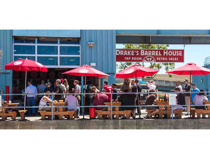 VIP Brewery Tour & Tasting for 6 at Drake's Brewing Co.