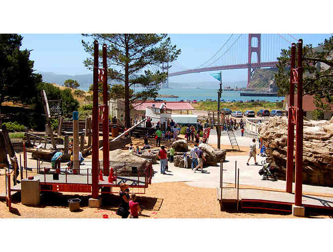 2 Family Visit Passes to the Bay Area Discovery Museum