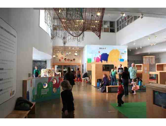2 Admission Tickets to the Children's Creativity Museum