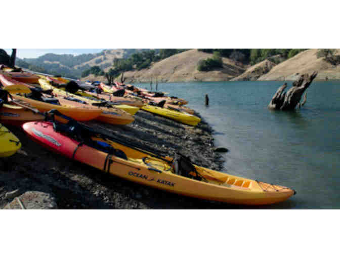 2 Hour Kayak or Canoe Rental on Lake Sonoma
