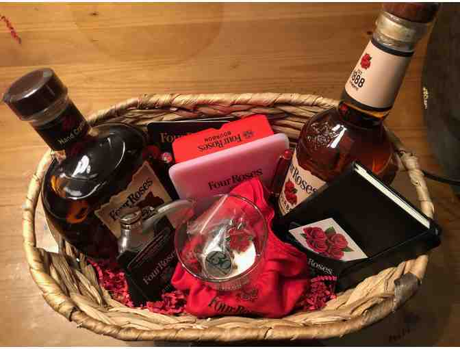 Four Roses Gift Basket