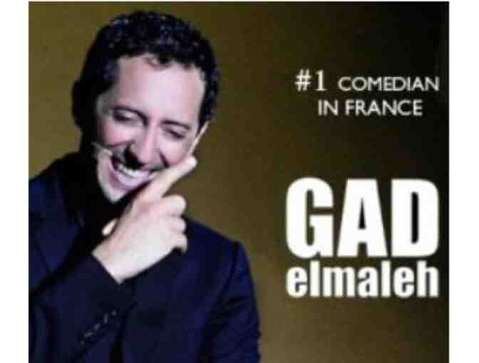 Two Tickets to Gad Elmaleh Comedy Show in Portland (Biddable through Nov. 10)