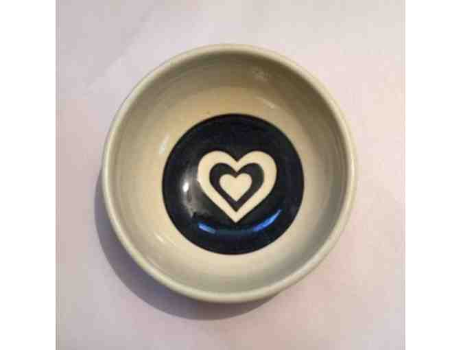 Black heart Bowl - Photo 1