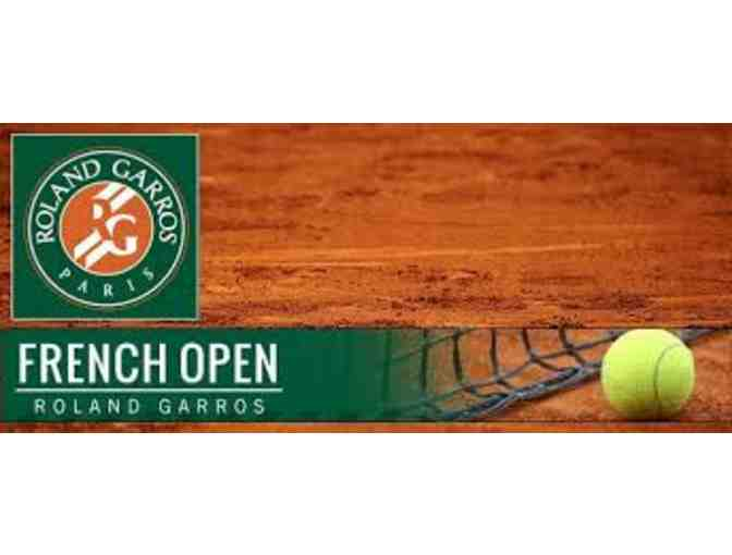 French Open Tennis Match - Two Tickets to Two Sessions - Photo 1
