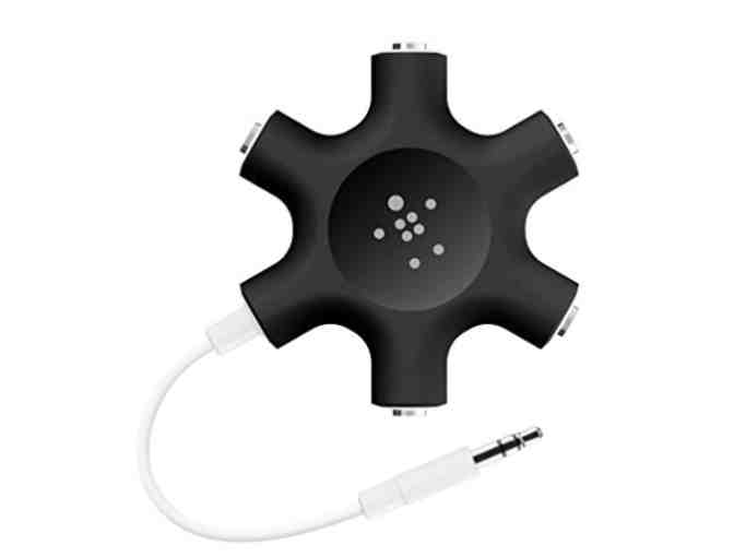 Belkin Rockstar 5-Jack Multi Headphone Audio Splitter - Photo 1