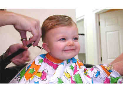 Hair Cut for Kids at Lions & Tigers and Hair - $20 gift certificate