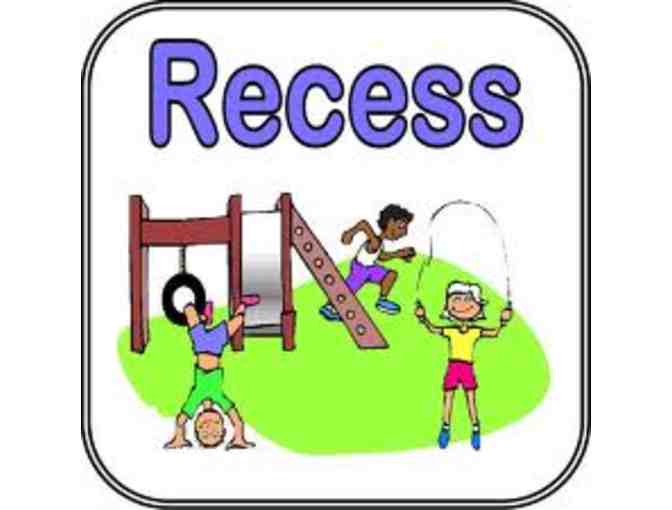 Burbank School -- an extra recess for your child's class