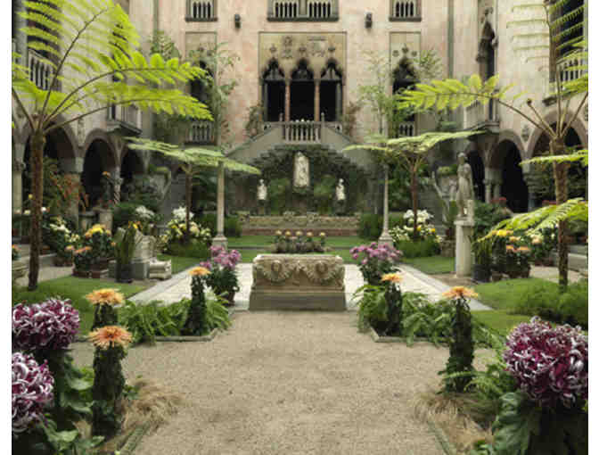 Isabella Stewart Gardner Museum - 4 Admission Passes and a Curator Tour