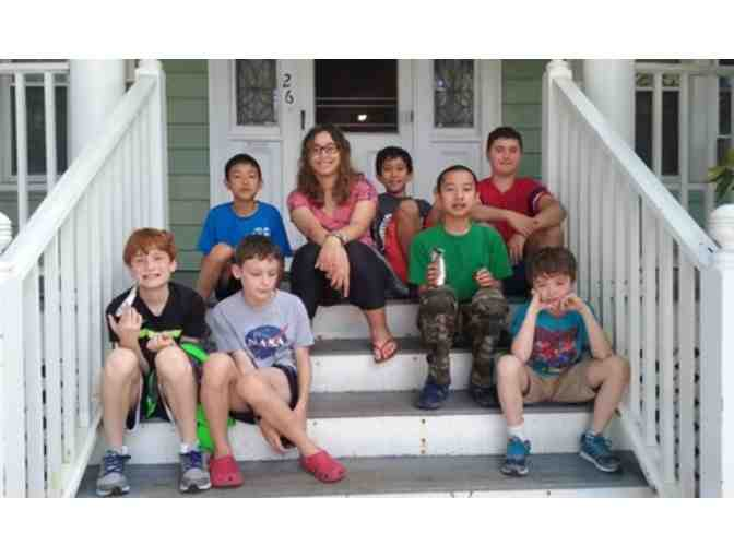 One week of Summer Camp at Codemakers in Belmont