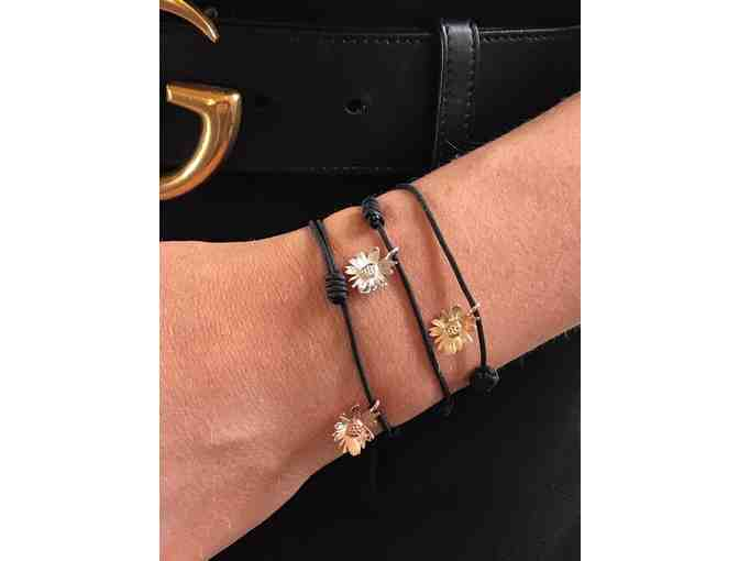Fiona's Flower bracelet- 9ct Rose Gold