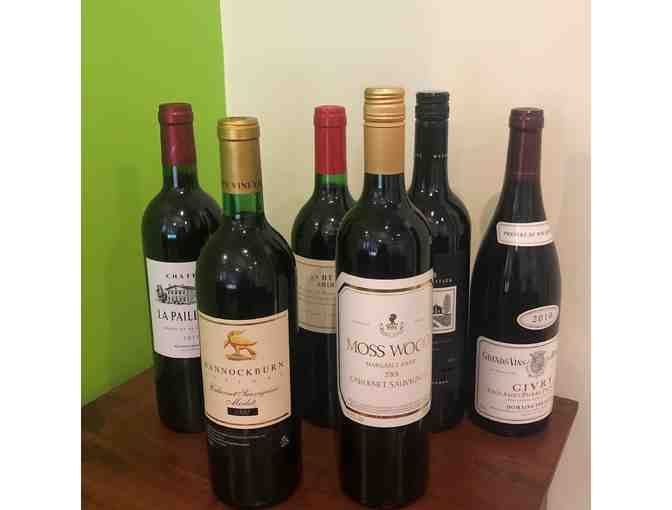 6 Bottles of Premium Assorted Red wine