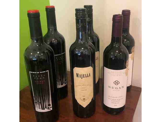 6 bottles of Premium Red Wine - Photo 1