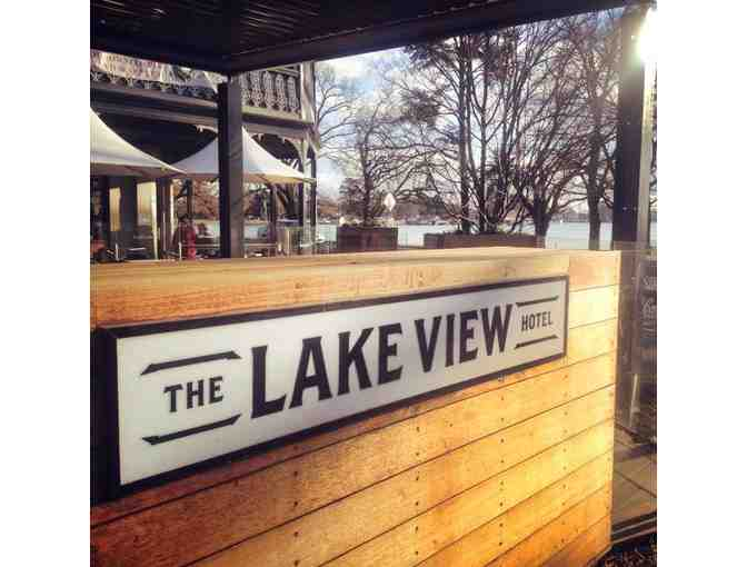 The Lake View Hotel - $50 voucher