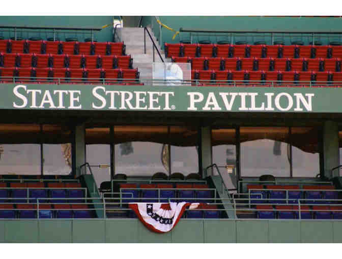 2 Red Sox tickets in the State Street Pavillion