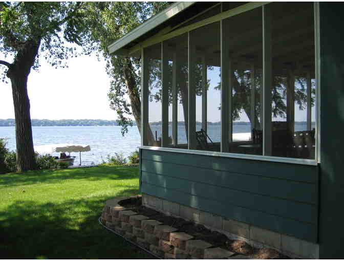 Four (4) Day stay in Cabin on Lake Andrew in Sibley State Park