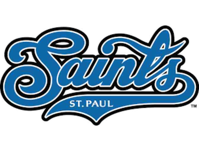 Saint Paul Saints-  Four (4) Tickets ~ game of your choice donated by Hallberg Engineering