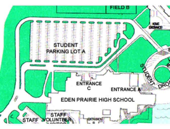 EPHS Parking - Student Parking Pass for 'A' lot 2019-20 school year
