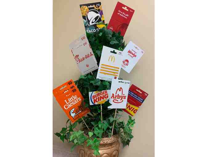 Drive Thru Mania Gift Card Bouquet - Photo 2