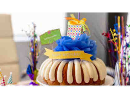 Nothing Bundt Cakes- (1) 10 inch Decorated Cake