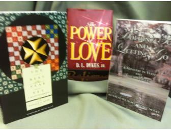 3 Books: D.L Dykes, Wishy Nolan and Donald Webb