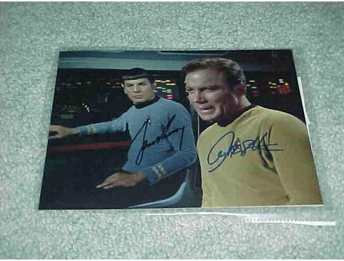 Star Trek Autographed Photo