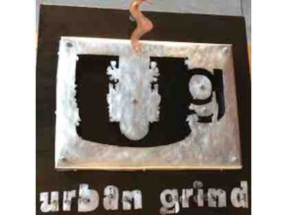 Urban Grind Coffee $25 Gift Card and Coffee
