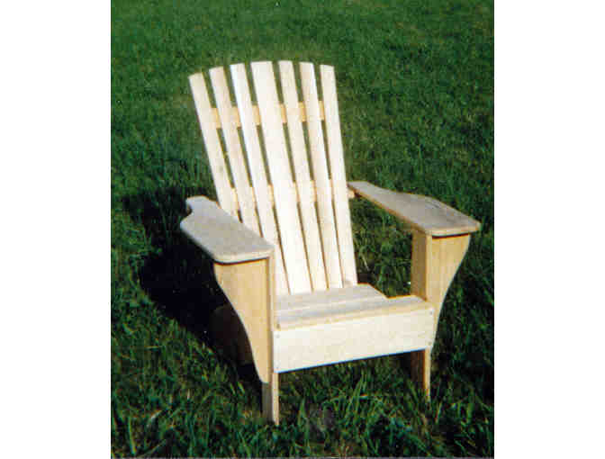 Classic Fanback Adirondack Chair by Davey Hecht Woodworking