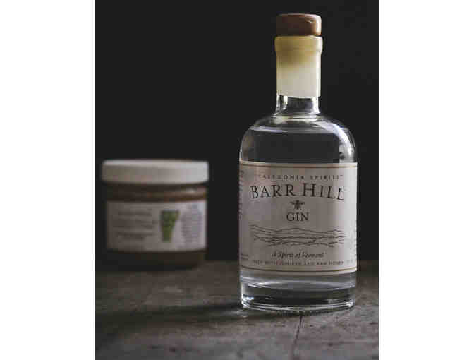 Gift Certificate for Caledonia Spirits Bottle of Barr Hill Gin & Jar of Raw Honey