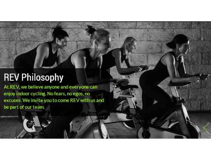 5 Indoor Spinning Classes at REV