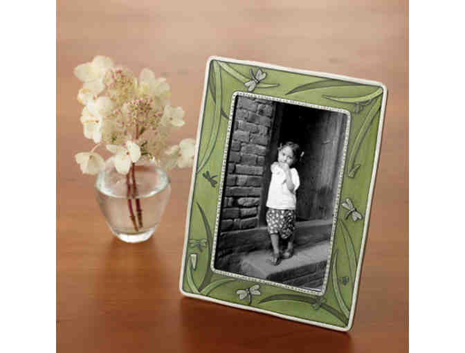 Danforth Pewter Feathers Picture Frame