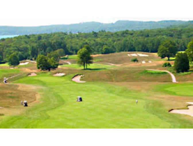 A Round of Golf for Three with Eric Flegenheimer at Crystal Downs