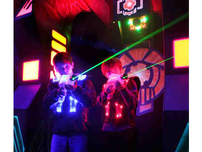 Laserlite Laser Tag: Four Game Passes (A)