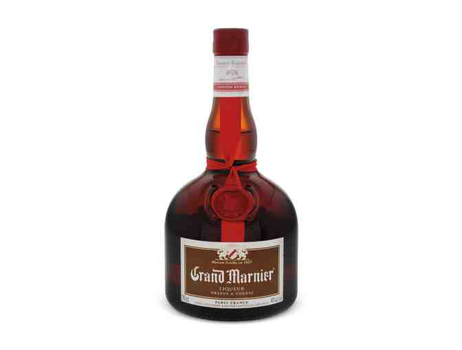 Large bottle of Grand Marnier Liqueur
