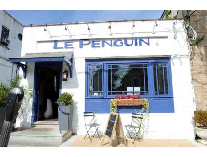 Le Penguin Restaurant - Lunch for 4
