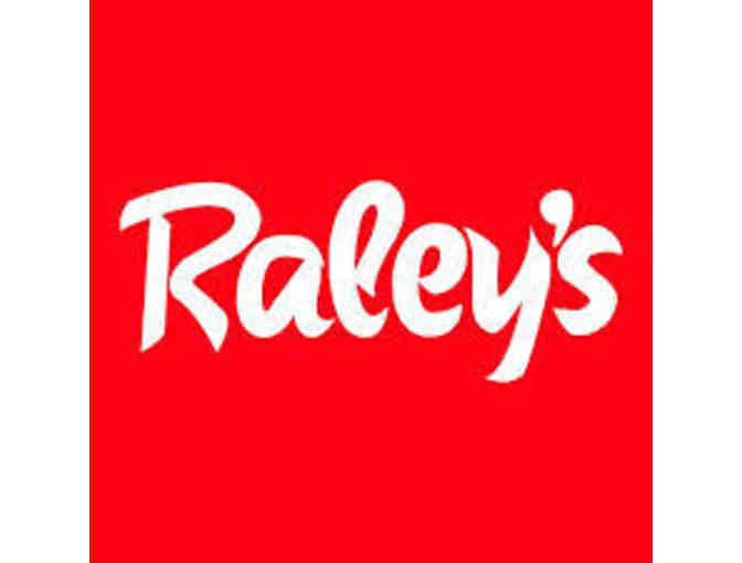 Raley's Gift Card $100
