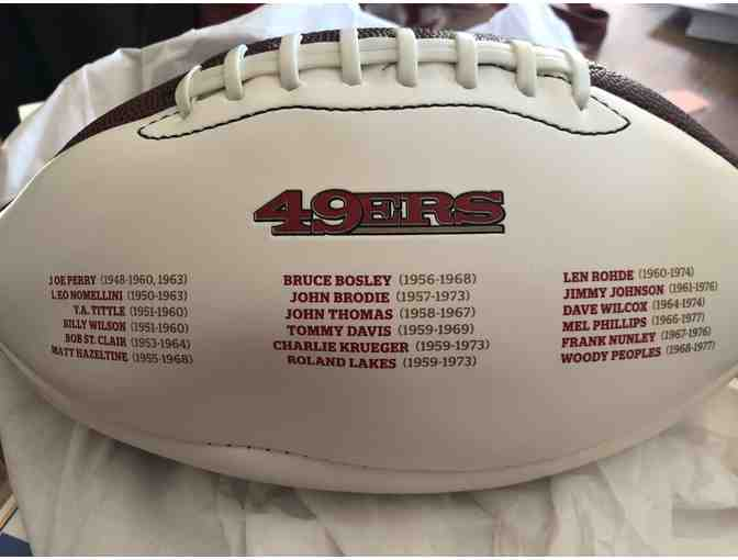 10 Year Club 49ers Football