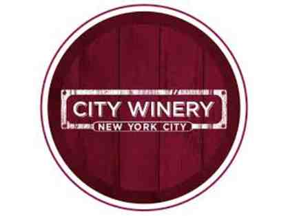 City Winery Wine Tasting Flight & Winery Tour for (2)