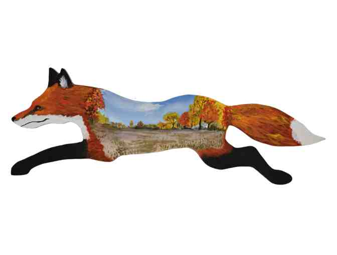 Flaming Fall Fox