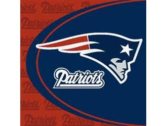 "New England Patriots Logo design area rug 5'-4"" X 7' - 8"" ($305.00 value) - Photo 1"
