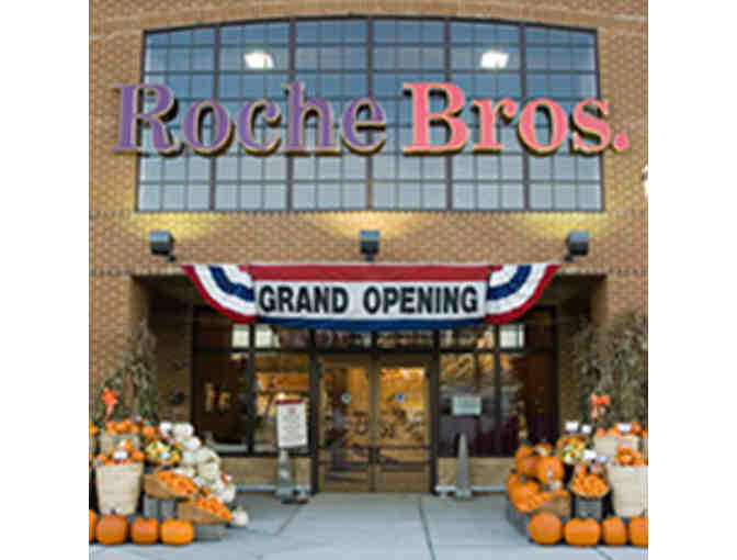 $100 Gift Certificate to Roche Brothers or Sudbury Farms