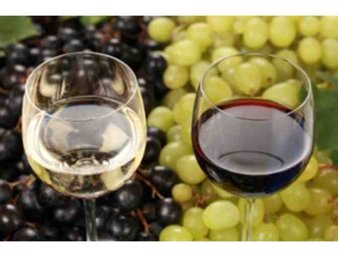 Wine Tasting for up to 15-18 People