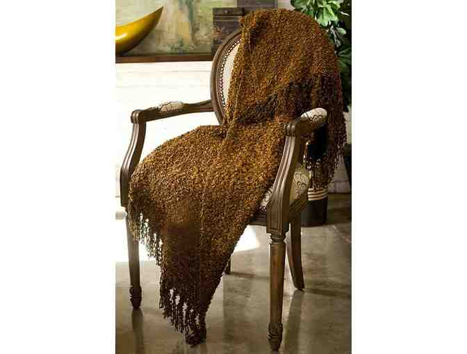 Woven Workz Throw - Michelle - Chocolate