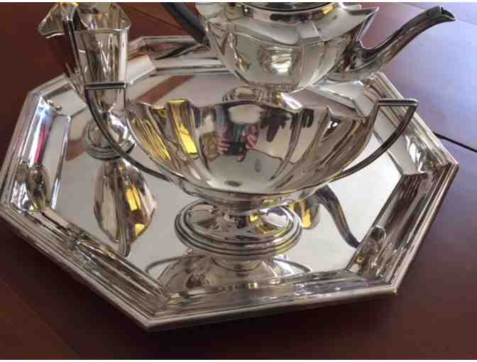 Silver plate tea service - possibly antique