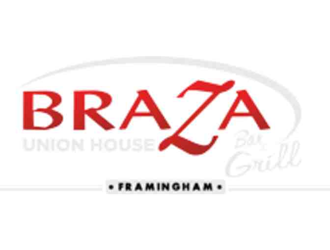 $25 Gift Certificate to Braza Bar & Grill Union House