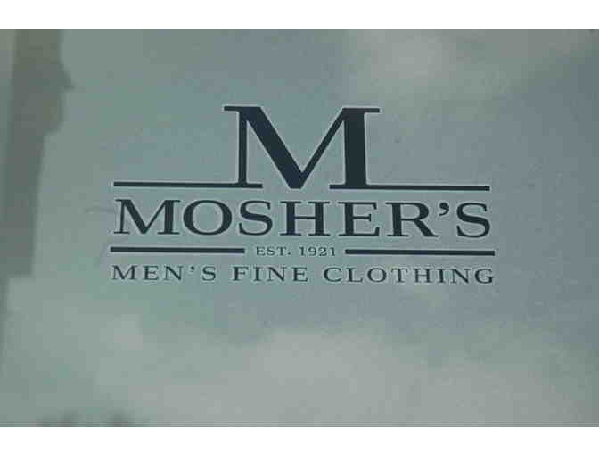 $100 Gift Certificate for Mosher's Men's Fine Clothing