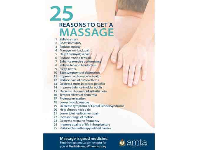 Gift Certificate for a 90 minute Massage Treatment